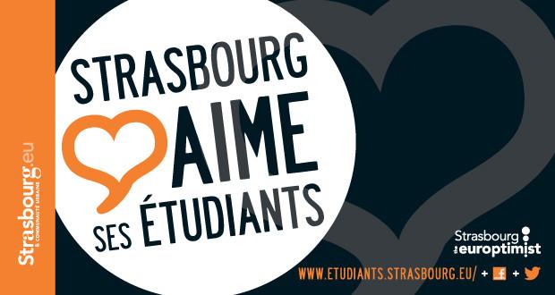 Strasbourg aime ses étudiants