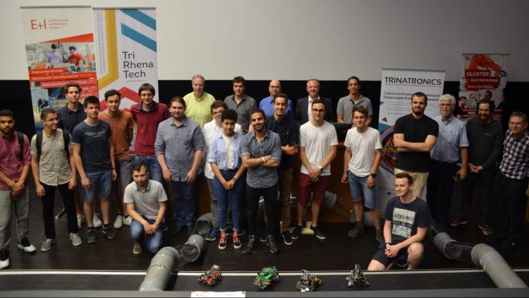 photo des participants au concours Trinatronics